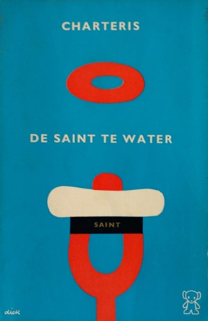 zwarte beertjes 796 Charteris The Saint te water